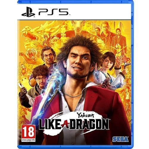 Yakuza Like A Dragon PS5 Game